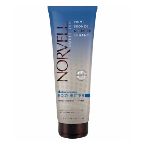 Norvell's Advanced Repair Crème revitalizes dull, dry skin and leaves skin feeling hydrated and clean. Product available at Tantrum Sunless Tanning.
