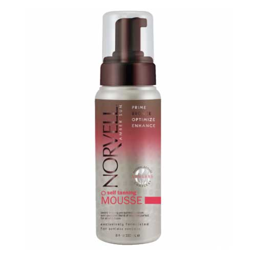 Norvell's Self Tanning Mousse delivers naturally dark tan color in a foaming, bronzing formula for quick, flawless results. Available at Tantrum Sunless Tanning.