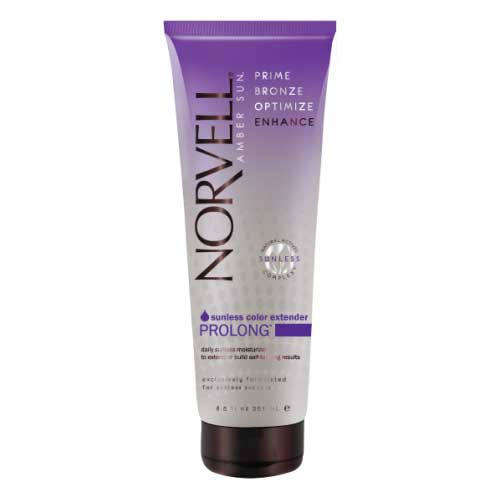 Norvell's best-selling daily sunless moisturizer adds a little extra color and extends the life of your airbrush tan. Product available at Tantrum Sunless Tanning.